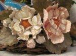 Красивые цветы из акварельной бумаги.
