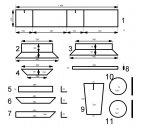 Станок для производства шлакоблока предназначен для изготовления стеновых материалов, таких как шлакоблок, пескоблок...