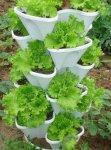 Контейнер и многоярусные грядки для выращивания растений (патент RU 72381 U1) .