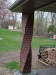 кладка винтовых столбов из кирпича